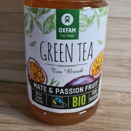 Organic Green Tea with Passion Fruit